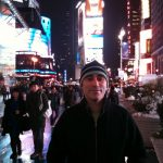 ricardo in Time Square...