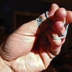 elastic band hand